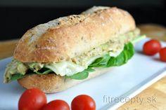Fitness raňajky s vysokým obsahom bielkovín Salmon Burgers, Tofu, Lowes, Sandwiches, Ethnic Recipes, Fitness, Low Carb, Diet, Paninis
