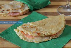 La piadina di kamut light con salmone e provola è una deliziosa ricetta che si prepara velocemente e contiene pochissimi grassi.