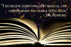 An inspiring quote from the amazing J.K. Rowling.