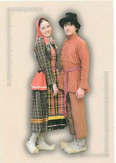 FolkCostume&Embroidery: Overview of the Folk Costumes of Europe, Udmurtia