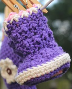 #handmade #baby booties #etsy @etsy custom order available at http://www.etsy.com/shop/jackjackdesigns?ref=si_shop