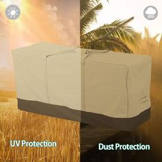 Scorpiuse Patio Cushion Storage Bag 420D Outdoor Protective Zippered Patio Furniture Cover Waterproof Dustproof UV Protection (2-Pack ** (paid link) Click image to review more details.