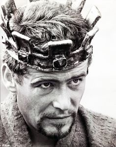King Henry II, played by Peter O'Toole, in the movies Becket (1964) and The Lion in Winter (1968) my favorite movie