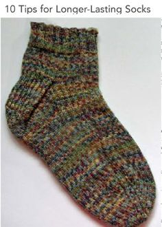 How to Knit Socks: Free Sock Patterns and Instructions - Knitting Daily