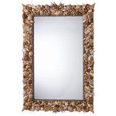 ARTERIORS Home Lucia Rectangle Shell Mirror - 9203