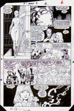 X-Men art by Arthur Adams