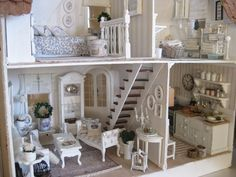 Image result for white and faded dollhouse