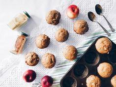 Muffins aux pommes, à l'érable et au thé chaï