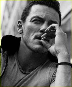 Luke Evans Looks So Sexy for 'Essential Homme' Photo Shoot!