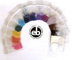 The Bright Winter Eye Shadow Rainbow from Elea Blake Cosmetics.