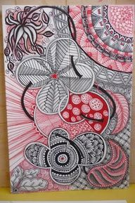 Doodles, zentangles, mandalas 4