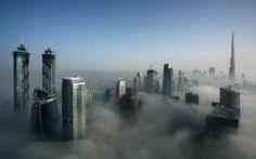 Morning Fog- Dubai, UAE