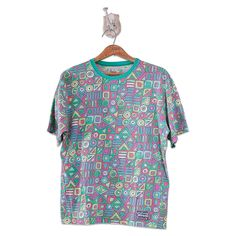 Ypsilon 90s Surf Designed by Patricia Tardini T-Shirt Size: S Made in Italy