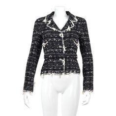 Chanel Jacket Black & White | Buy at Retrouvè Online Shop