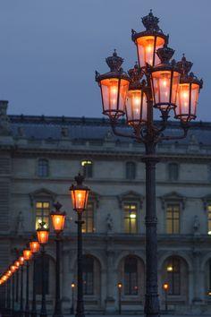 Paris Street Lamps | Louvre