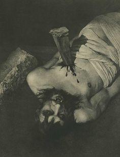The Vampire  William Mortensen, the Antichrist of photography | Dangerous Minds