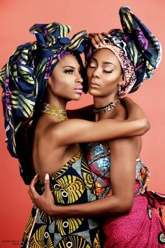 Beautiful African women in African prints #mixingprint For The Love Of Prints | CIAAFRIQUE ™ | AFRICAN FASHION-BEAUTY-STYLE