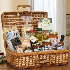 Magnificent Milano Gourmet Gift Basket -   - http://giftbasketblessings.com/product/magnificent-milano-gourmet-gift-basket/