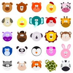 what madeleine loves: Animals Set 02