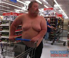 Gross People of Walmart - Bing Images Walmart Customers, Walmart Shoppers, Gross People, Crazy People, Funny Walmart People, Funny People, Walmart Pictures, Funny Pictures, Walmart Lustig