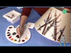 Pintura a mano alzada Cómo pintar una lámpara