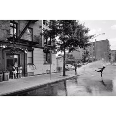 """Here is my Henri Cartier-Bresson """"Decisive moment"""" photo but the South Bronx…"""