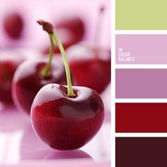 """""""пыльный"""" розовый, бордовый, весенняя цветовая палитра, винный цвет, вишневые оттенки, зеленый, красный, лиловый цвет, насыщенный розовый, оливковый, оттенки зеленого, оттенки розового, подбор цвета, розовый, тёмно-зелёный, фиолетовый,"""