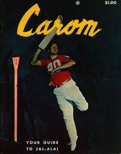 Carom A Guide to Jai Alai Vintage 1963 Souvenir Booklet Tampa Florida Fronton | eBay