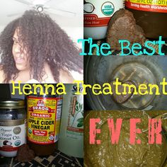 The Best Henna Treatment EVER!!!!!!!! ~ The Mane Objective