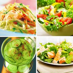 Diet Recipes, Healthy Recipes, Hungarian Recipes, Bacon, Salads, Food And Drink, Drinks, Cooking, Kitchen