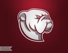 Bulldogs Logo on Behance Bulldog Mascot, Gym Logo, Sports Team Logos, Animal Logo, Logo Inspiration, Character Design, Behance, Branding, Animals