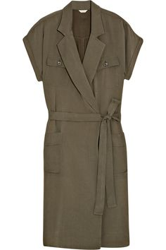 J.CREW Jane brushed-twill shirt dress $180