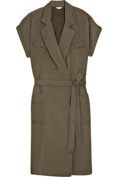 J.CREW Jane brushed-twill shirt dress $180