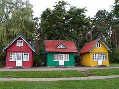 3 houses in Nida, Lithuania