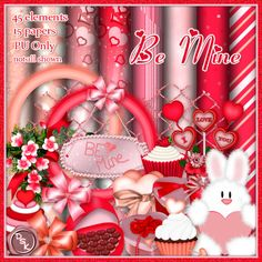 Creative Misfits Creations: New Valentine Scrap Kits ♥