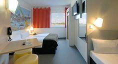 Familienzimmer für 3 Personen im B&B Hotel Hamburg-Harburg