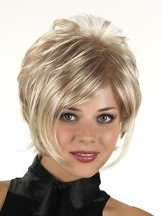 Lightweight Capless Synthetic Grey Wig, Straight Synthetic Wig | D4 wwc029