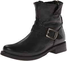 FRYE Women's Vicky Artisan Back-Zip Boot, Black, 7 M US * Find out more about the great product at the image link.
