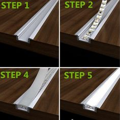 LED recessed strip lights with aluminum channel an. LED recessed strip lights with aluminum channel and plastic lens – Cove Lighting, Strip Lighting, Interior Lighting, Lighting Ideas, Hidden Lighting, Neon Lighting, Led Recessed Lighting, Modern Lighting Design, Indirect Lighting