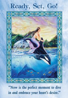 Oracle Card Ready, Set, Go!   Doreen Virtue - Official Angel Therapy Website
