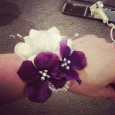 wrist corsage perfect for bridesmaids of mothers of the bride or groom