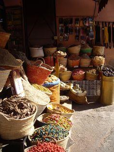Herbalist,  Marrakech