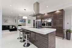 Must-Have Items to Create a Technologically-Advanced Smart Kitchen Basement Kitchen, Kitchen Flooring, Kitchen Decor, Kitchen Ideas, Kitchen Planning, Kitchen Inspiration, Smart Kitchen, Kitchen Cabinet Design, Modern Kitchen Design