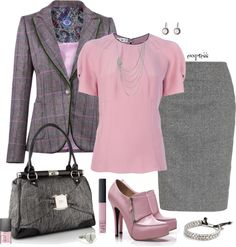 """""""Contest: Tweed Blazer"""" by exxpress on Polyvore"""