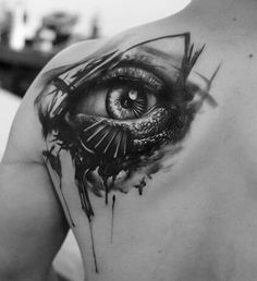 Eyes tattoo ideas by Kurt Staudinger 99 Dramatic Portraits Tattoo Design by Kurt Staudinger