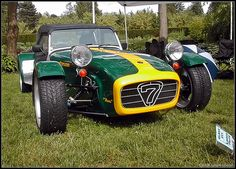 Lotus 7. The car that I most want to build in my garage!