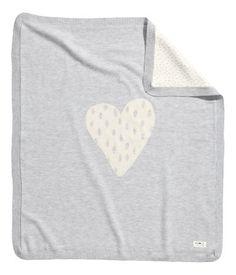 Fine-knit baby blanket | H&M US