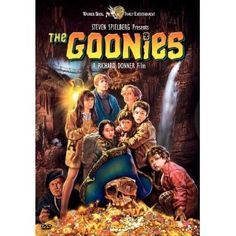 "Goonies ... my KIDS love to watch this movie now ... as do I.  STILL LOVE it !! Great throwback movie from the 80's!!! ""CHUNK !!"""
