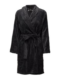 Narah Fleece Robe Short (Dark Grey) (33.51 €) - Missya | Boozt.com