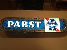 Vintage PABST BLUE RIBBON BEER LIGHT SIGN